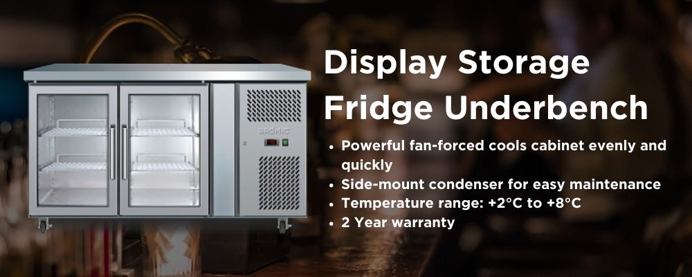 Display Fridges - Under Bench