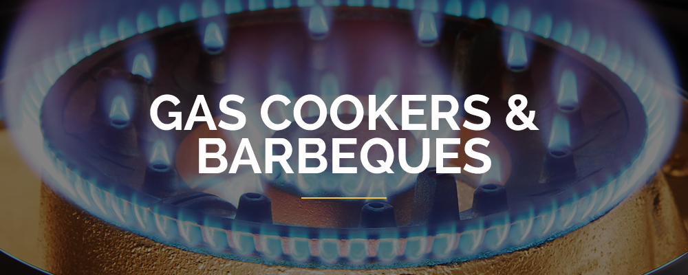Gas Cookers & Barbeques