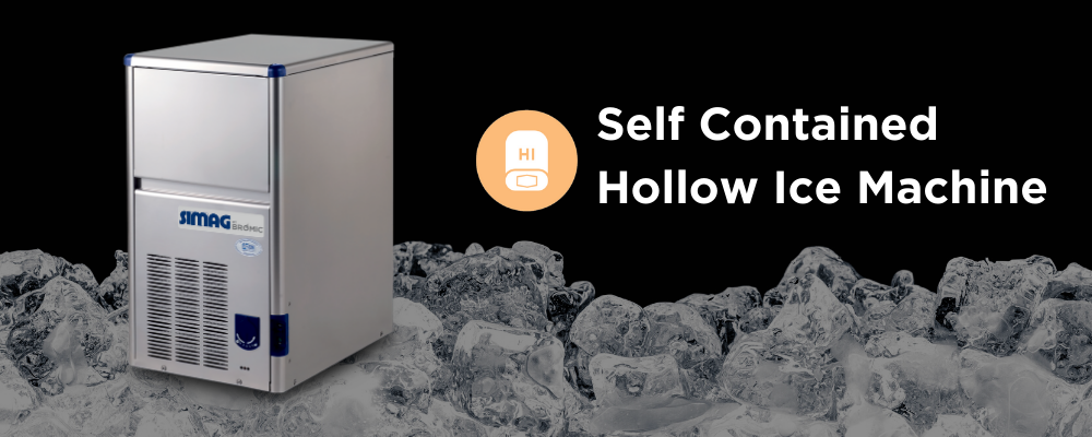 Ice Maker Machine - Self-Contained Hollow Ice