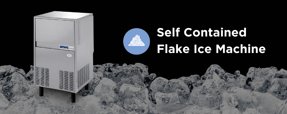 Ice Maker Machine - Self-Contained Flake