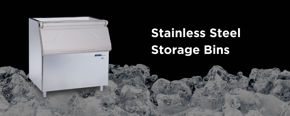 Ice Maker Machine - Storage Bins