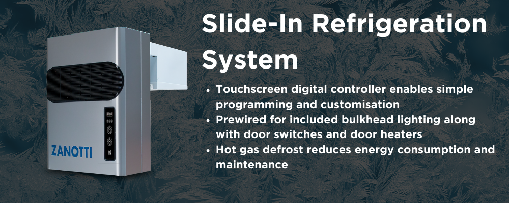 Refrigeration System - Slide-In