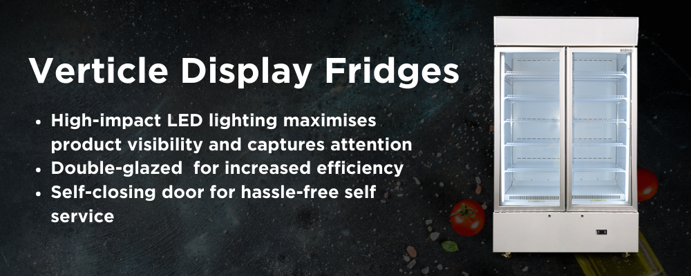 Upright Display Fridges