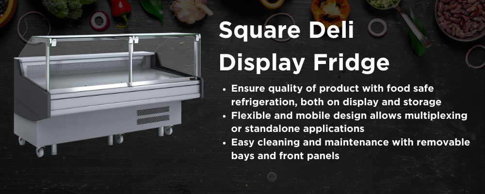 Square Deli Displays
