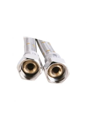 Gas Hose - 10mm Stainless Steel - 3000mm