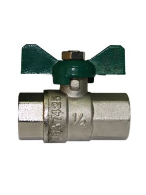 "Ball Valve Female x Female RC 1/2"" T Handle"