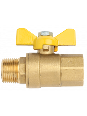 "Ball Valve Male x Female RC 1/2"" x RC 1/2"""