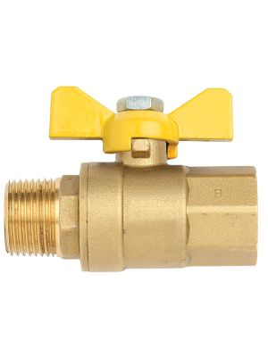 "Ball Valve Male x Female RC 3/4"" x R 3/4"""