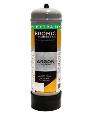 Bromic 2.2 L Argon Gas Disposable Cylinder
