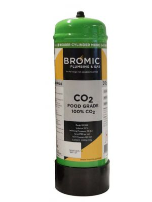 Bromic 2.2L CO2 Food Grade Gas Disposable Cylinder