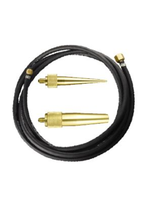 Nitrogen Purge Kit - hose and brass nozzles