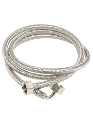 "Aqua Duct - Stainless Steel Supply Hose, Connection 3/4"" - 1500mm"
