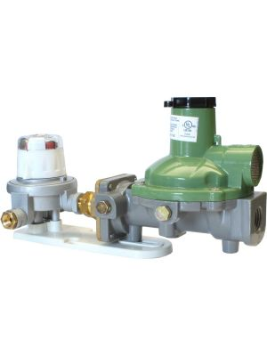 Regulator with Automatic Changeover – 600MJ with Bracket