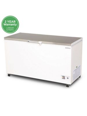 CF0500FTSS Flat Top Stainless Steel 492L Storage Chest Freezer