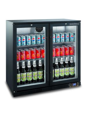 BB0200GD Back Bar Display Chiller 190L (Hinged Door)