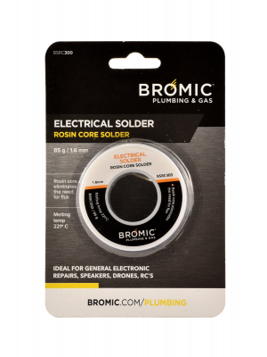 Bromic 85g Rosin Core Electrical Solder Wire