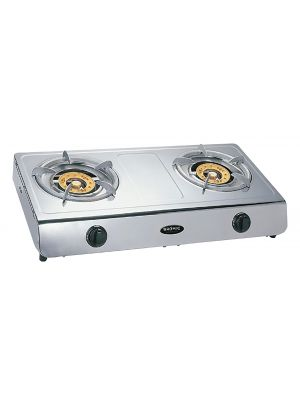 Wok Cooker LPG Deluxe Double Burner W/ Flame Failure