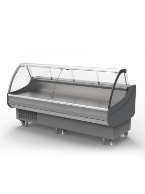 Curved Glass Deli Display DD0250CG