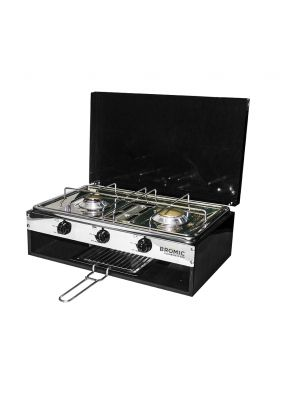 Camper-Lido Junior Deluxe 2-Burner with Grill