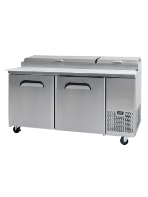 PP1700 Two-Door Pizza Prep Counter
