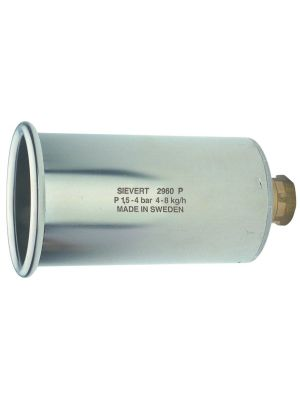 Sievert Stainless Steel Power Burner 60mm