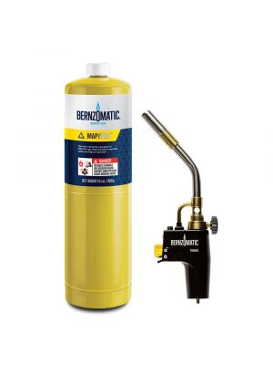 Bernzomatic High Intensity Swirl Flame Trigger Start Torch and MAP-Pro Kit