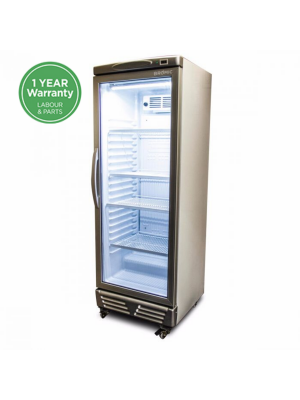 GM0300 LED ECO Flat Glass Door 290L Upright Display Chiller