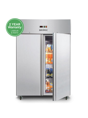 UC1300SD Gastronorm Stainless Steel 1300L Upright Storage Chiller