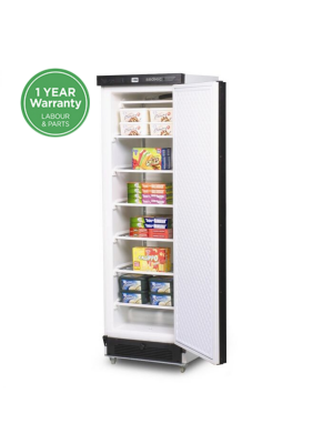 UF0374SDS Solid Door 300L Upright Storage Freezer