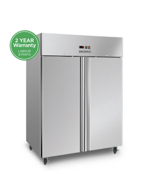 UF1300SDF Gastronorm Stainless Steel 1300L Upright Storage Freezer