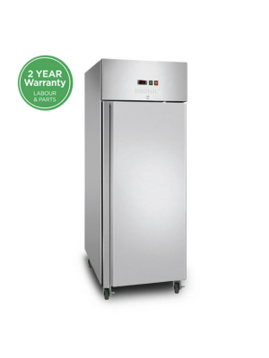 UF0650SDF Gastronorm Stainless Steel 650L Upright Storage Freezer