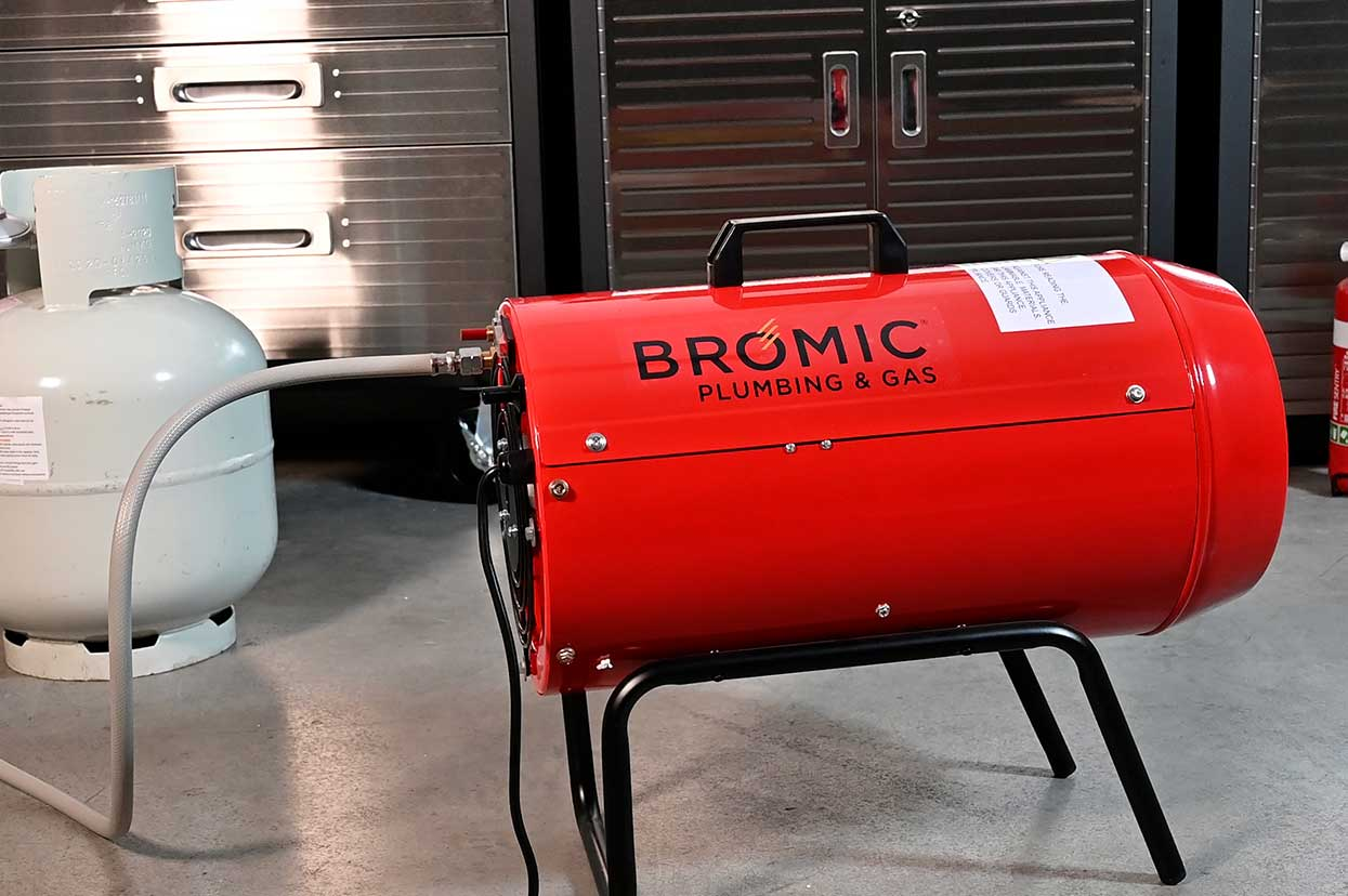 Bromic Commercial Blow Heater