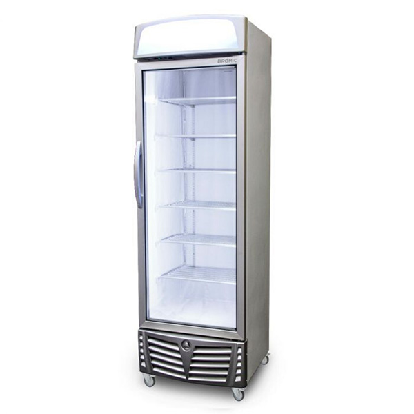 Vertical Display Fridges